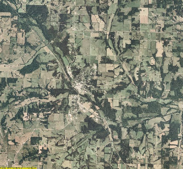 Stone County, Missouri aerial photography
