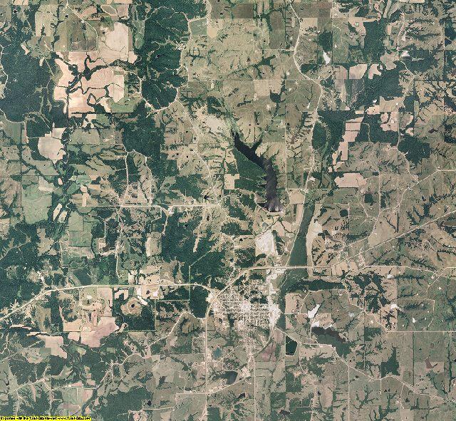 Sullivan County, Missouri aerial photography
