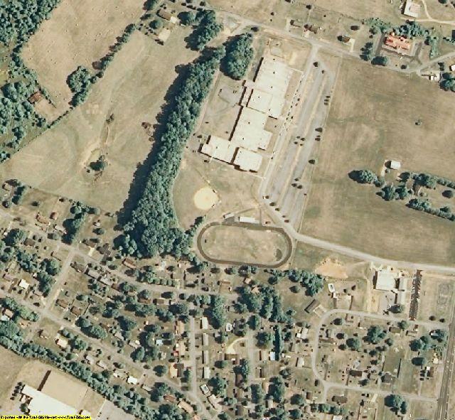 Sullivan County, TN aerial photography detail