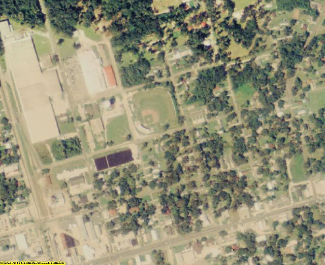 Tangipahoa County, LA aerial photography detail