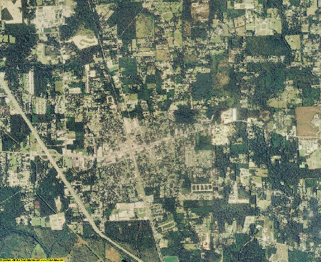 Tangipahoa County, Louisiana aerial photography