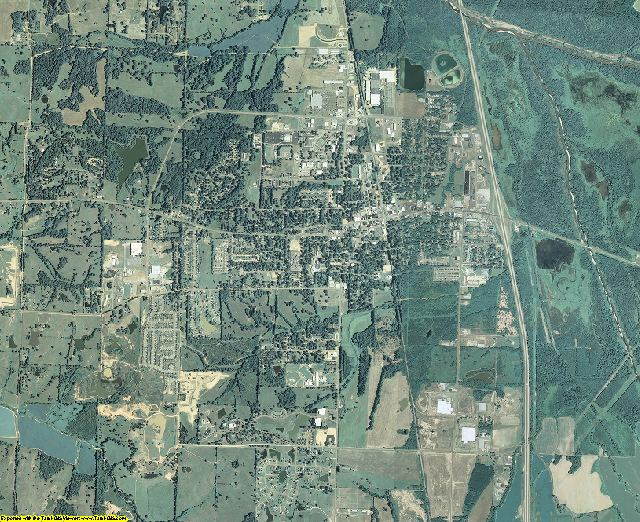Tate County, Mississippi aerial photography