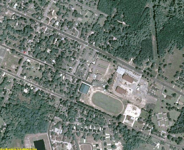 Tattnall County, GA aerial photography detail