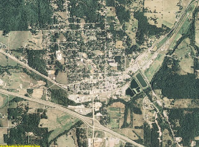 Texas County, Missouri aerial photography