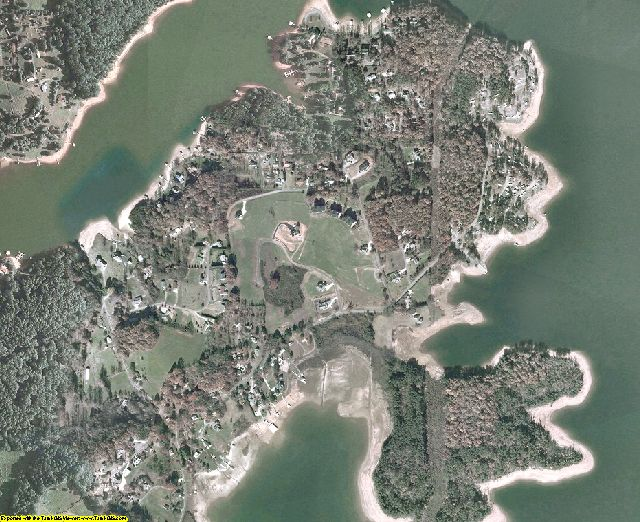 Towns County, GA aerial photography detail