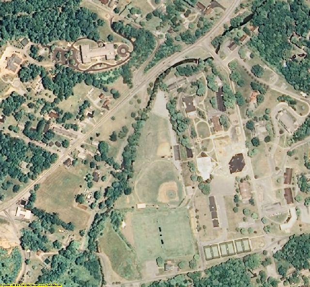 Unicoi County, TN aerial photography detail