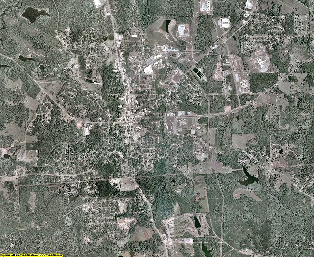 Upson County, Georgia aerial photography