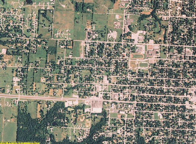 Vernon County, Missouri aerial photography