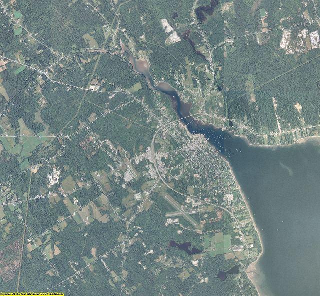 Waldo County, Maine aerial photography