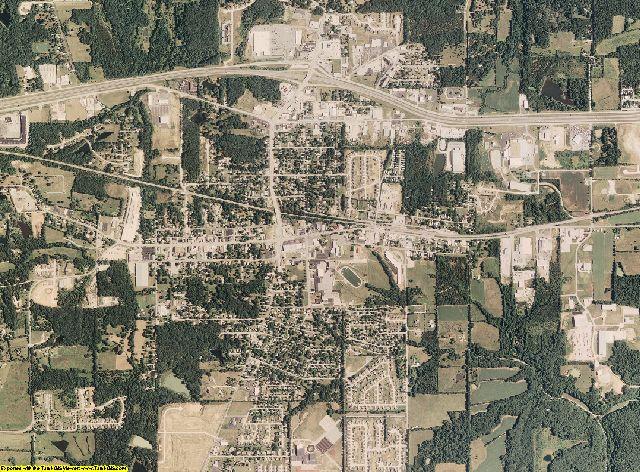 Warren County, Missouri aerial photography