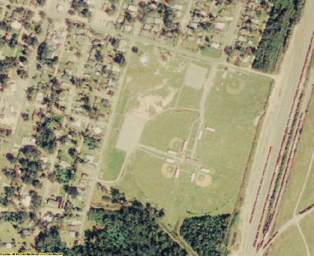 Washington County, LA aerial photography detail