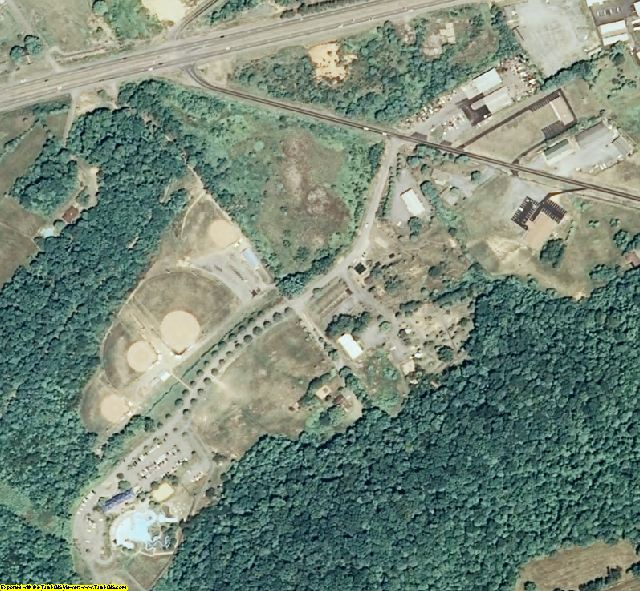 Washington County, TN aerial photography detail