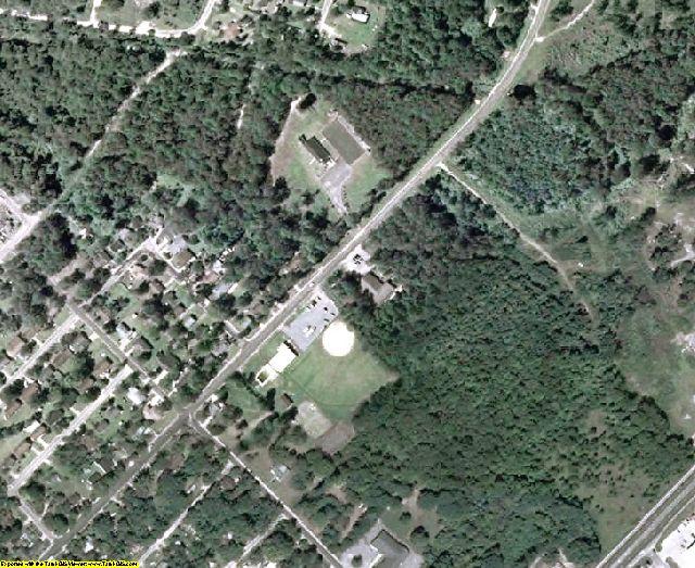 Wayne County, GA aerial photography detail