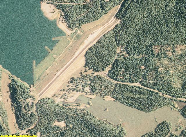 Wayne County, Missouri aerial photography