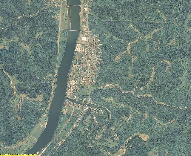 Wetzel County, West Virginia aerial photography