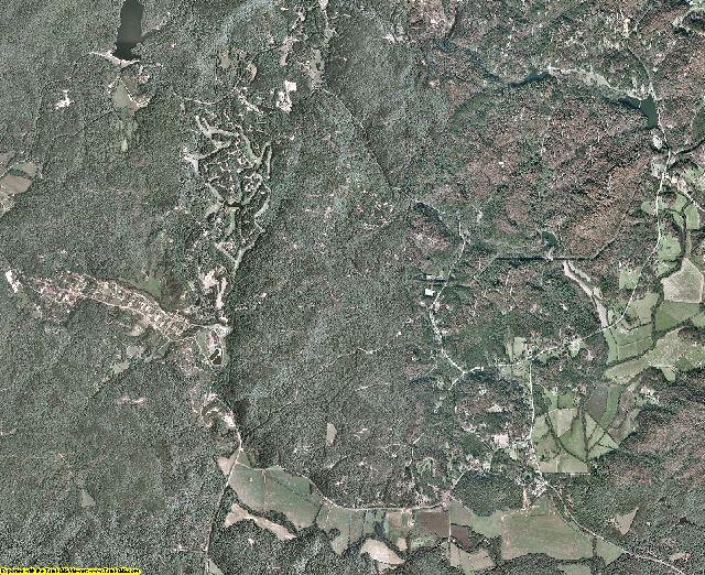 White County, Georgia aerial photography