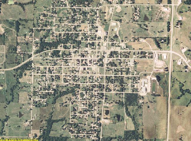 Worth County, Missouri aerial photography