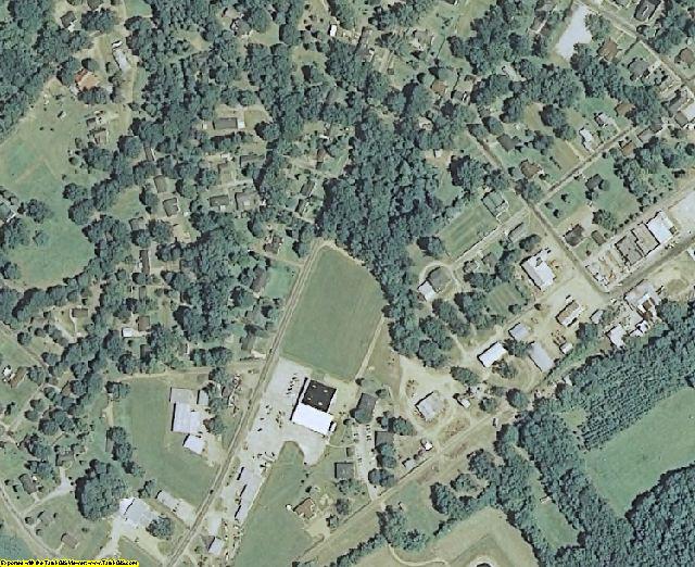 Yalobusha County, MS aerial photography detail