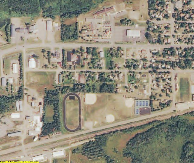 Aitkin County, MN aerial photography detail