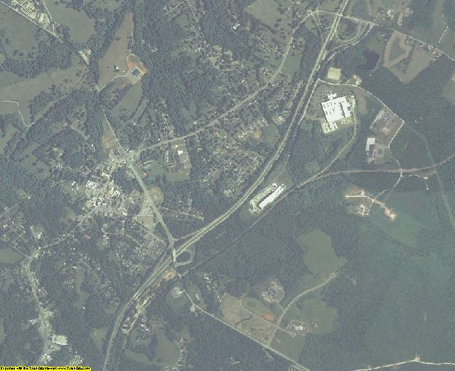 Amherst County, Virginia aerial photography