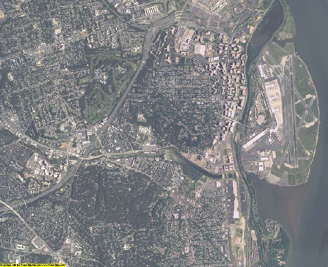 Arlington County, Virginia aerial photography