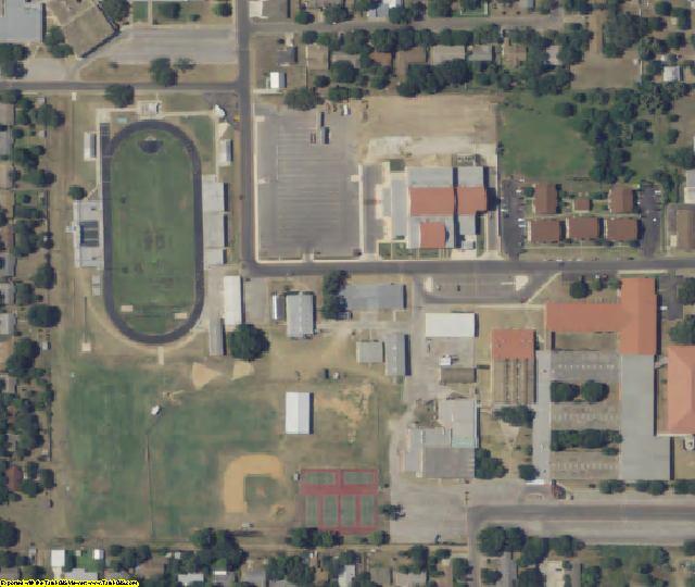 Atascosa County, TX aerial photography detail