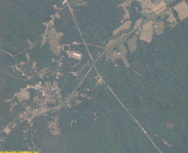 Bath County, Virginia aerial photography