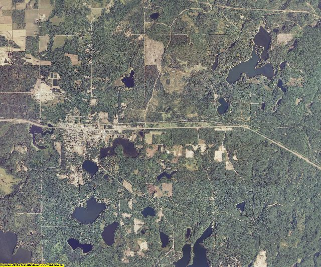 Bayfield County, Wisconsin aerial photography