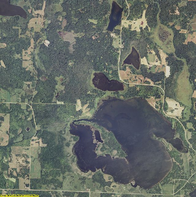 Beltrami County, Minnesota aerial photography