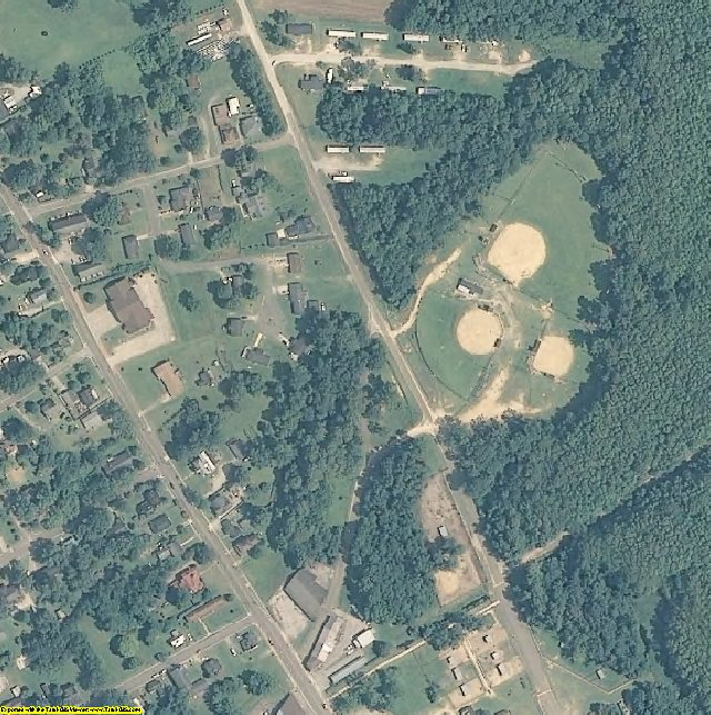Bertie County, NC aerial photography detail