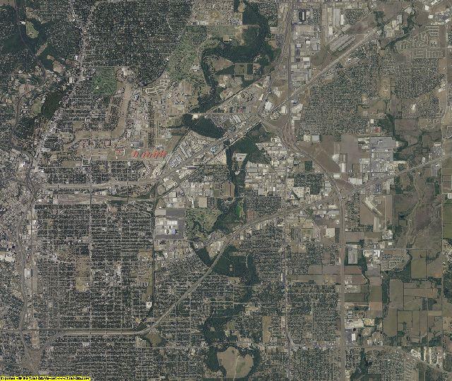 Bexar County, Texas aerial photography