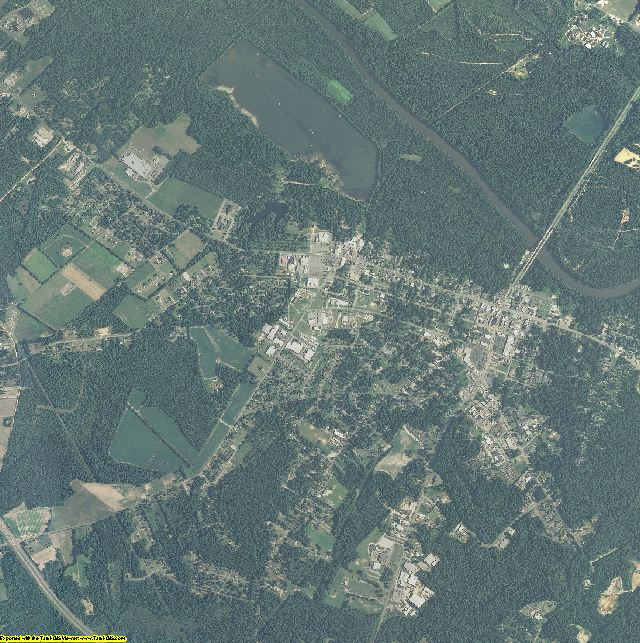 Bladen County, North Carolina aerial photography