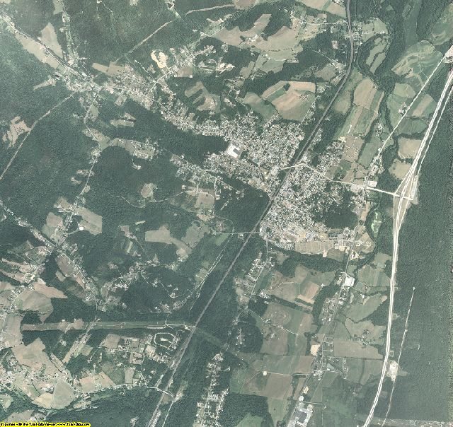 Blair County, Pennsylvania aerial photography