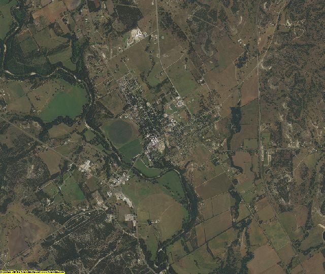 Bosque County, Texas aerial photography