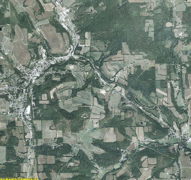 Bradford County, Pennsylvania aerial photography