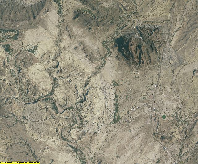 Brewster County, Texas aerial photography