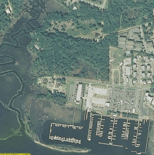 Brunswick County, NC aerial photography detail