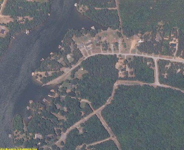 Brunswick County, VA aerial photography detail