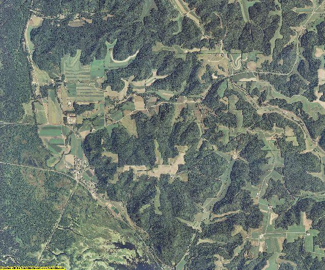 Buffalo County, Wisconsin aerial photography