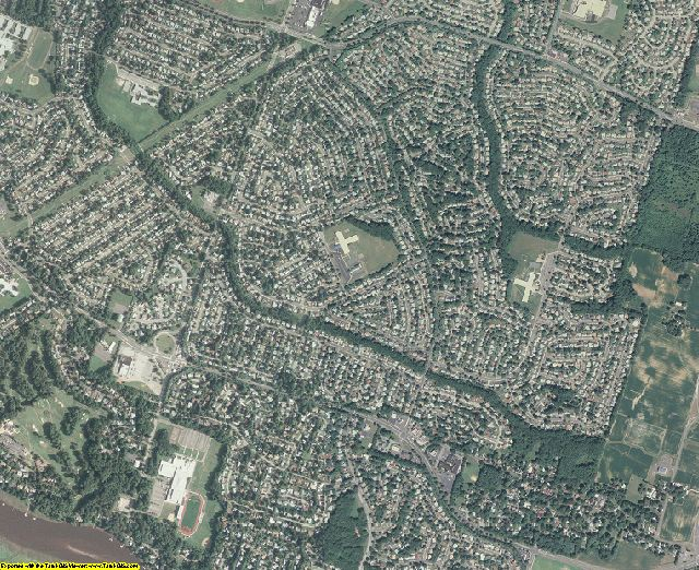 Burlington County, New Jersey aerial photography