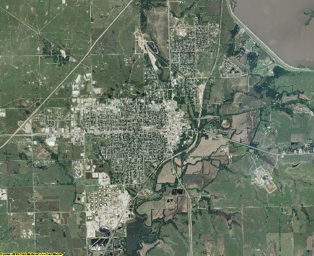 Butler County, Kansas aerial photography