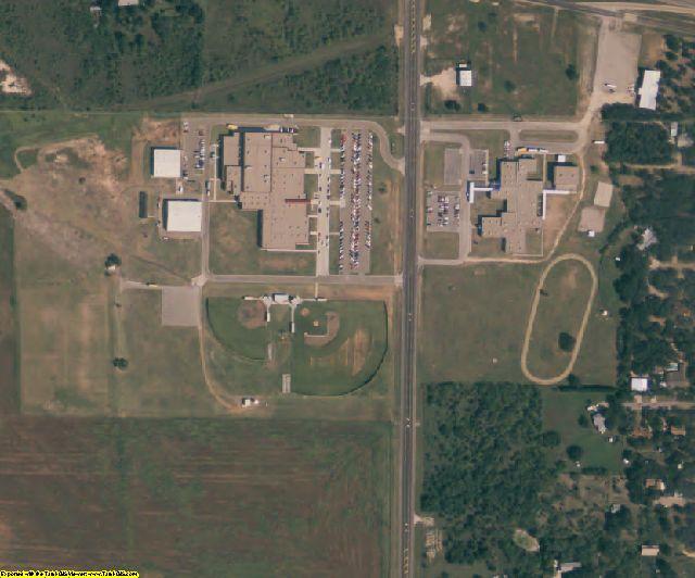 Callahan County, TX aerial photography detail
