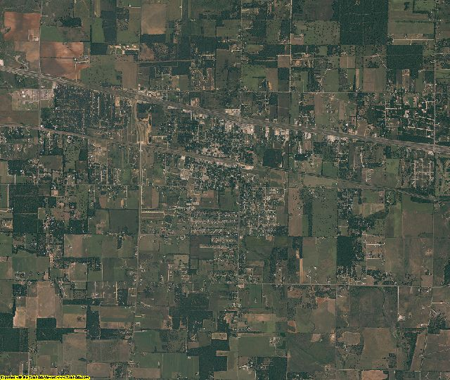 Callahan County, Texas aerial photography