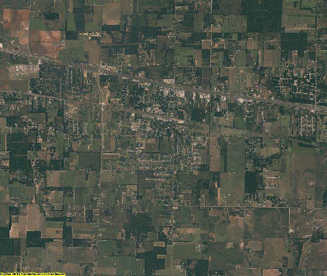 Callahan County, Texas aerial photography