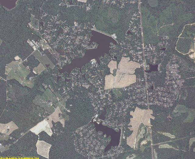 Caroline County, Virginia aerial photography