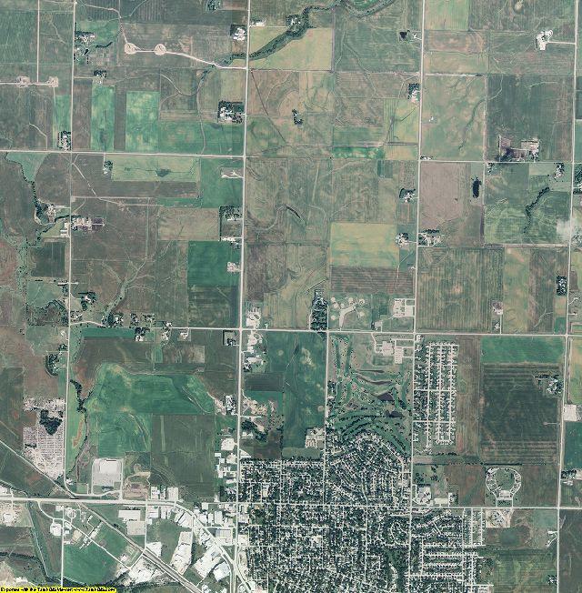 Carroll County, Iowa aerial photography