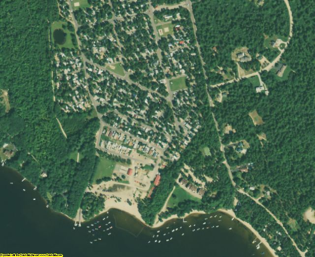 Carroll County, NH aerial photography detail