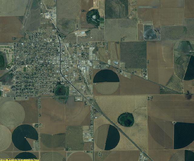 Castro County, Texas aerial photography