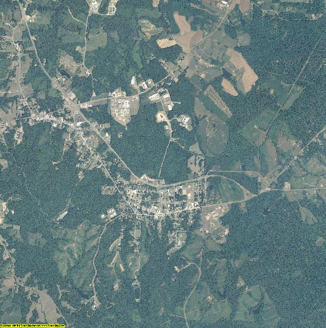Caswell County, North Carolina aerial photography