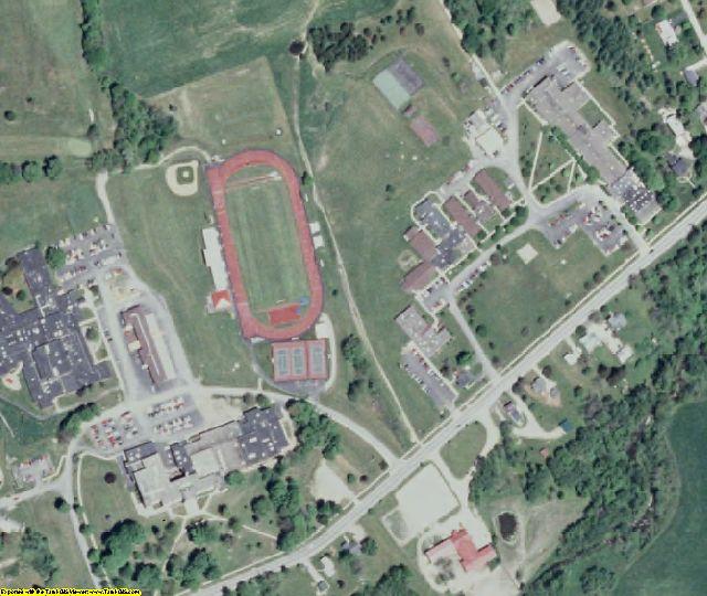 Cattaraugus County, NY aerial photography detail